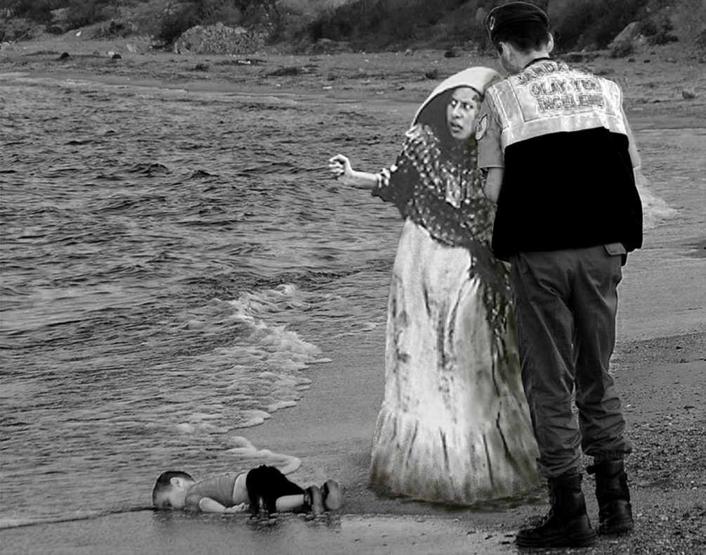 September 2, 2015 the body of baby Alan Kurdi was found dead on a beach in Bodrum, Turkey, when his family tried to flee their devastated country.