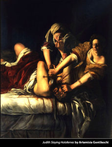 Slaying of Holofernes oil painting by Artemisia Gentileschi